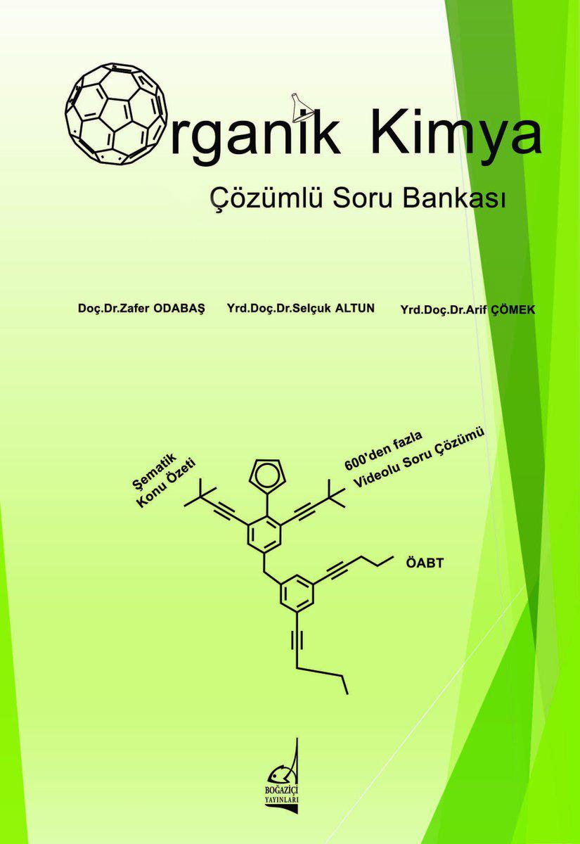 Organik Kimya Soru Bankası ve Video Çözüm Şifresi