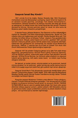 Türk Dünyası'nda Dil ve Kültür Birliği; Gaspıralı İsmail Bey'den Atatürk'e